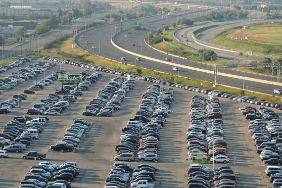 parking, coches aparcados