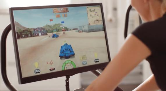PlayPulse, videojuego que aúna spinning y entretenimiento digital