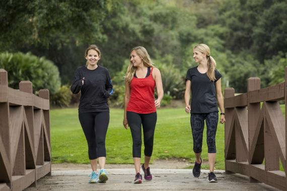 reto de caminar 10.000 pasos diarios