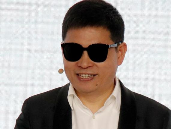 Richard Yu, the head of Huawei's consumer business group.