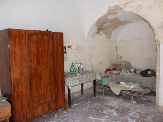 Una de las propiedades a la venta por 1 euro, en Mussomeli, Sicilia.