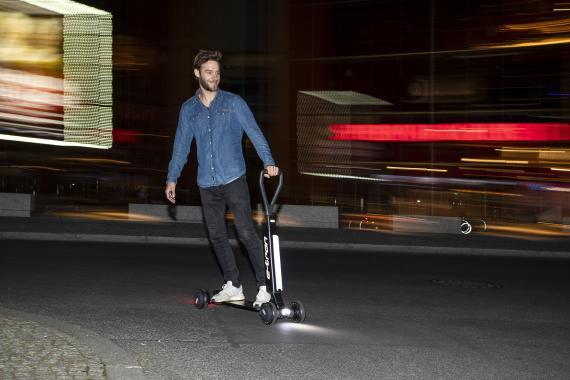 E-tron Scooter de Audi.