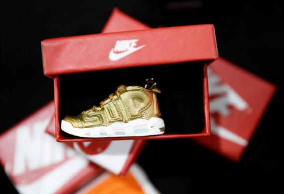 Una zapatilla Nike para niños