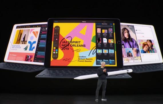 Apple estrena nuevo iPad de Séptima Generación con pantalla de 10.2 pulgadas