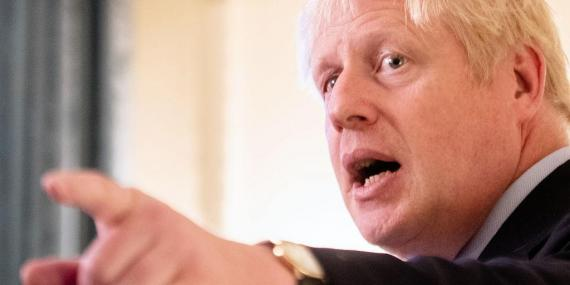 Boris Johnson challenges opposition parties to bring down his government