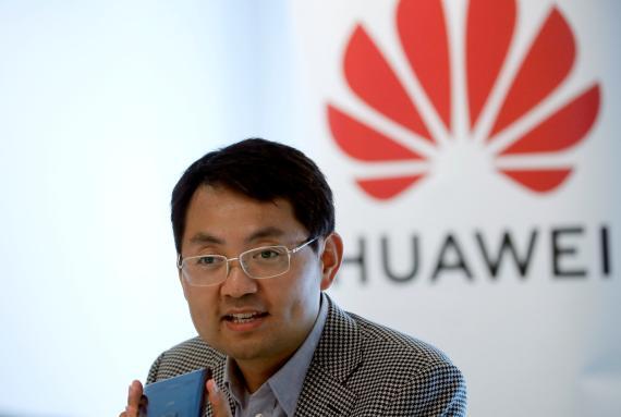 El CEO europeo de Huawei, Walter Ji.