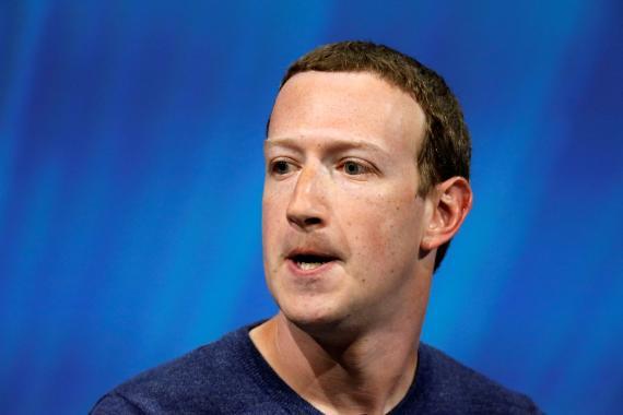 El CEO de Facebook, Mark Zuckerberg, durante un evento en París.