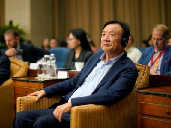 El CEO de Huawei, Ren Zhengfei.