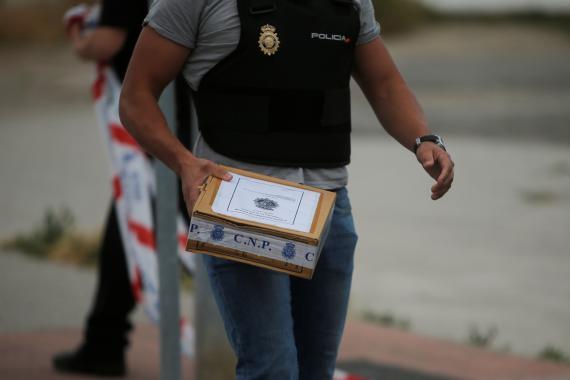 Imagen de archivo de una operación policial en 2018.