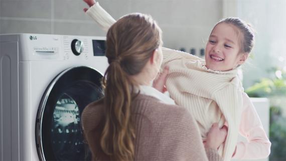 lavadoras inteligentes de LG