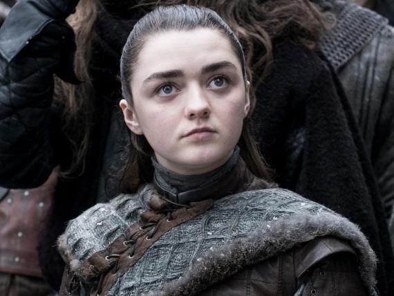 Maisie Williams fue nominada por su papel de Arya Stark en el Juego de Tronos de HBO.