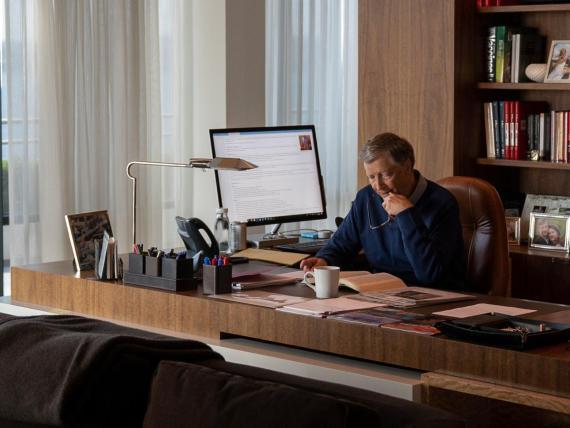 El fundador de Microsoft, Bill Gates, es un ávido lector.