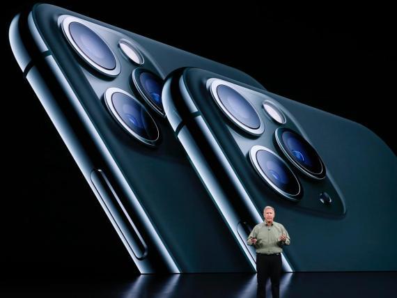 El nuevo iPhone 11, anunciado el martes.