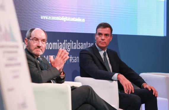 Pedro Sánchez en Ametic.