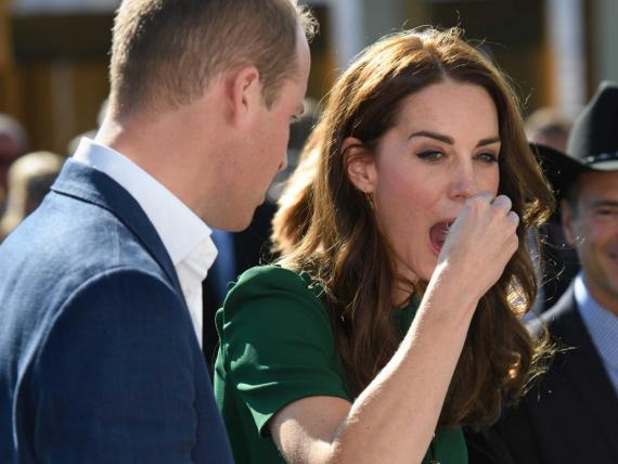 Para el Príncipe William y Kate Middleton, las cámaras lo capturan todo.
