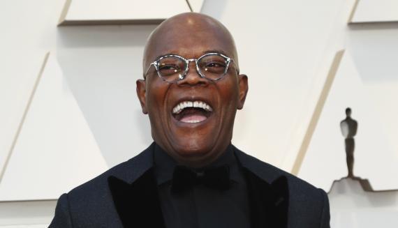 Samuel L. Jackson, durante una gala de los Premios Óscar.