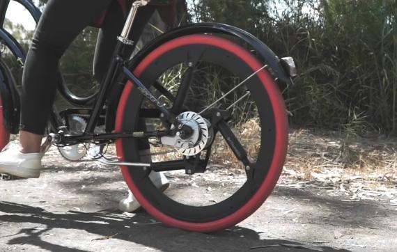 SoftWheel, la rueda inteligente que revoluciona la suspensión de las bicicletas y sillas de ruedas