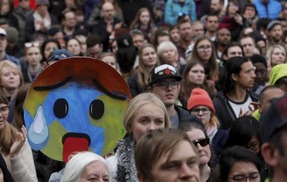 Protestas contra el cambio climático