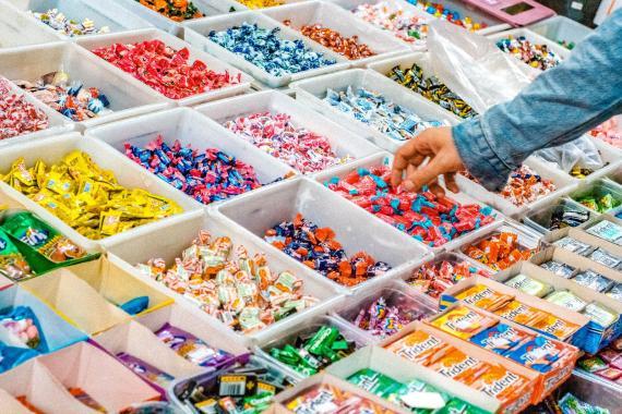Caramelos, gominolas, dulces