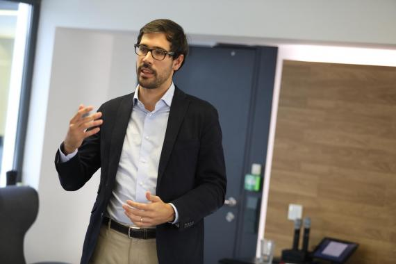 El director de Uber en España, Juan Galiardo.