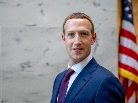 Facebook CEO and chairman Mark Zuckerberg.