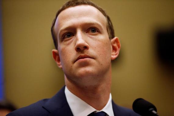 Mark Zuckerberg, el CEO de Facebook.