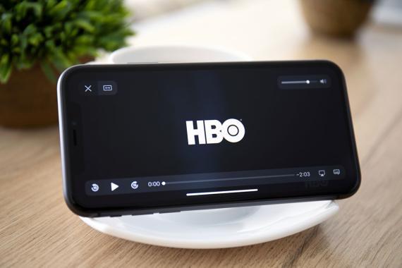 HBO en un iPhone