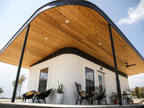 Icon va a imprimir seis pequeñas casas en Austin para acoger a personas sin hogar