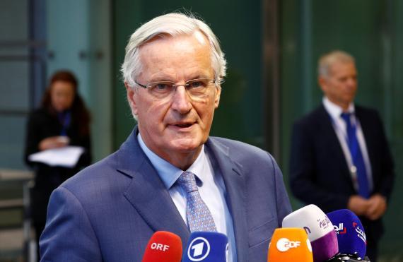 El jefe negociador de la UE para el Brexit, Michel Barnier