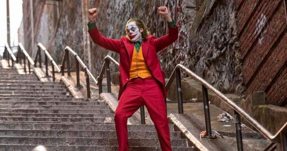 Joaquin Phoenix interpretando al Joker