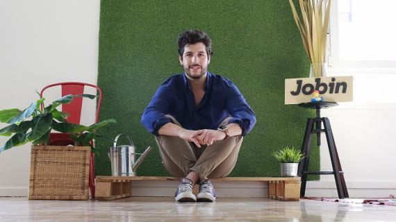 Jorge Oliveros, fundador de Jobin