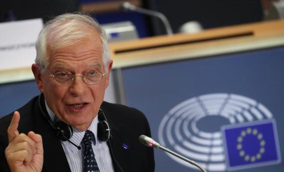 Josep Borrell, Alto Representante de la Diplomacia de la UE