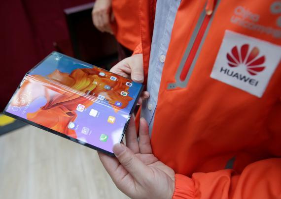 Mate X plegable de Huawei