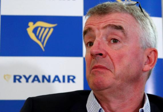 Michael O'Leary, CEO de Ryanair.