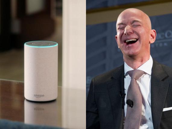 Jeff Bezos, director ejecutivo de Amazon