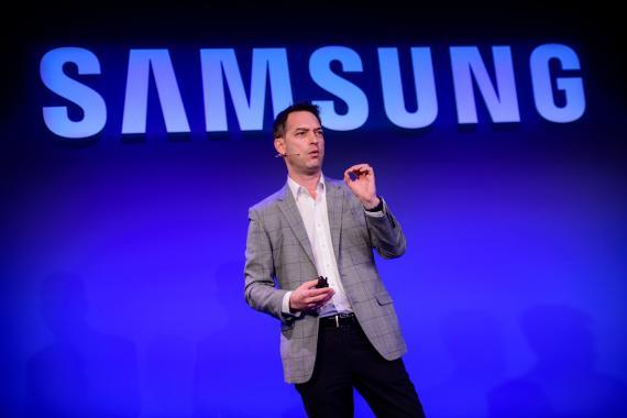 Nick Dawson, director global de negocios para empresas en Samsung