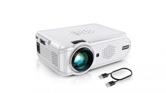 Oferta Amazon: mini proyector portátil de cine por 90 euros