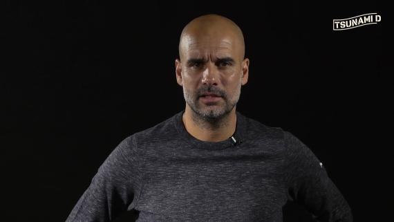Pep Guardiola en un vídeo del Tsunami Democràtic.