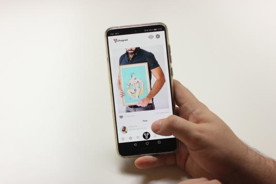 Pichagram, la app española que busca escapar de la censura de Instagram.