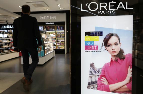 Una tienda del Grupo L'Oréal