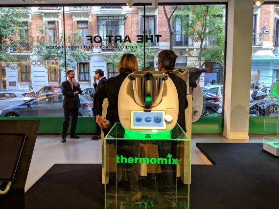 La primera pop up store de Thermomix situada en el centro de Madrid.
