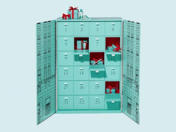 El Calendario de Adviento de Tiffany cuesta 100.500 euros.