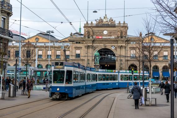 Bahnhofstrasse, Zurich, Suiza
