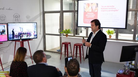 Ángel Piorno, director de innovación de Securitas Direct