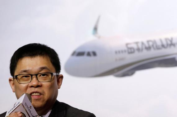 Chang Kuo-wei, fundador de Starlux Airlines.
