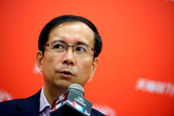 Daniel Zhang, CEO de Alibaba.