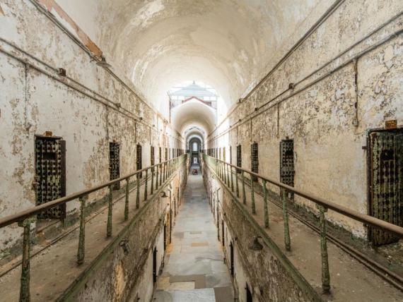 Eastern State Penitentiary en Filadelfia.