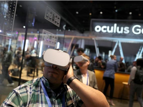 Las gafas de Oculus.