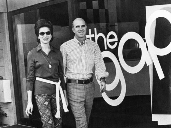 Gap fue fundada por Doris y Don Fisher en San Francisco en 1969.