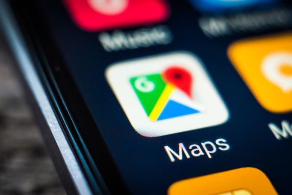 Icono aplicación Google Maps
